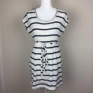 Motherhood Maternity Cable Knit Sweater Dress /Top